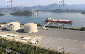 Arribo a Manzanillo nuevo embarque de gas natural