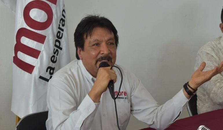 Sergio Jiménez Bojado, desmiente a Vladimir Parra al decir que es mentira que las oficinas de Morena en Manzanillo estén clausuradas