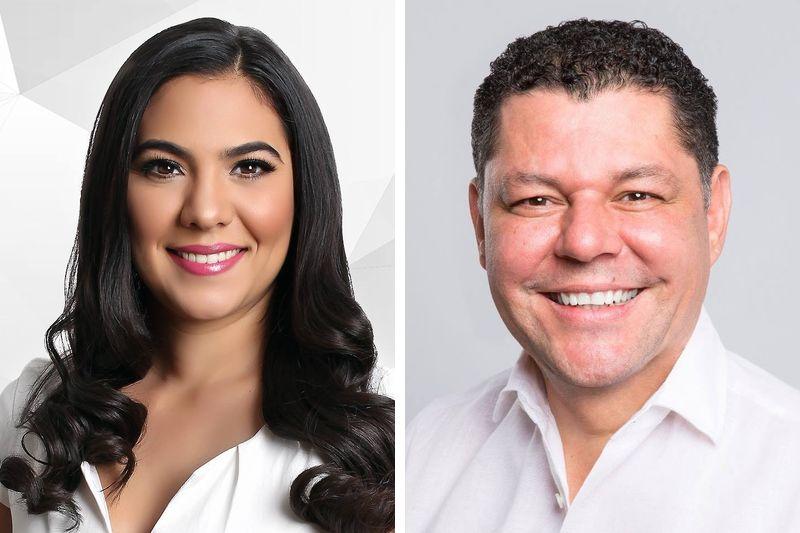 Virgilio e Indira encabezan encuestas a la gubernatura por Colima