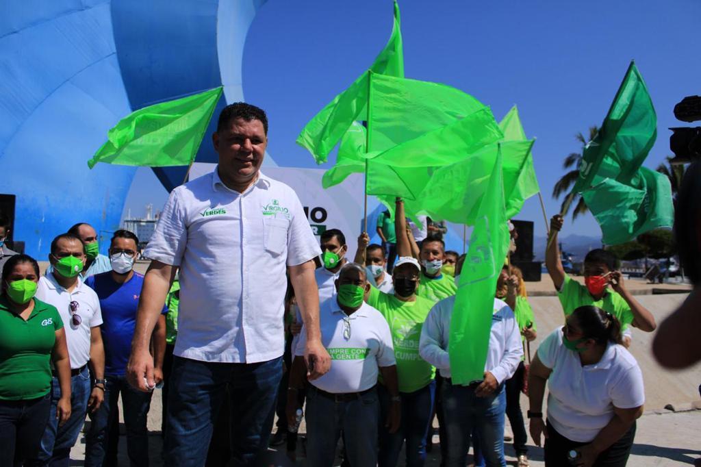 Venceremos la pandemia del mal gobierno estatal con la ola Verde: Virgilio Mendoza