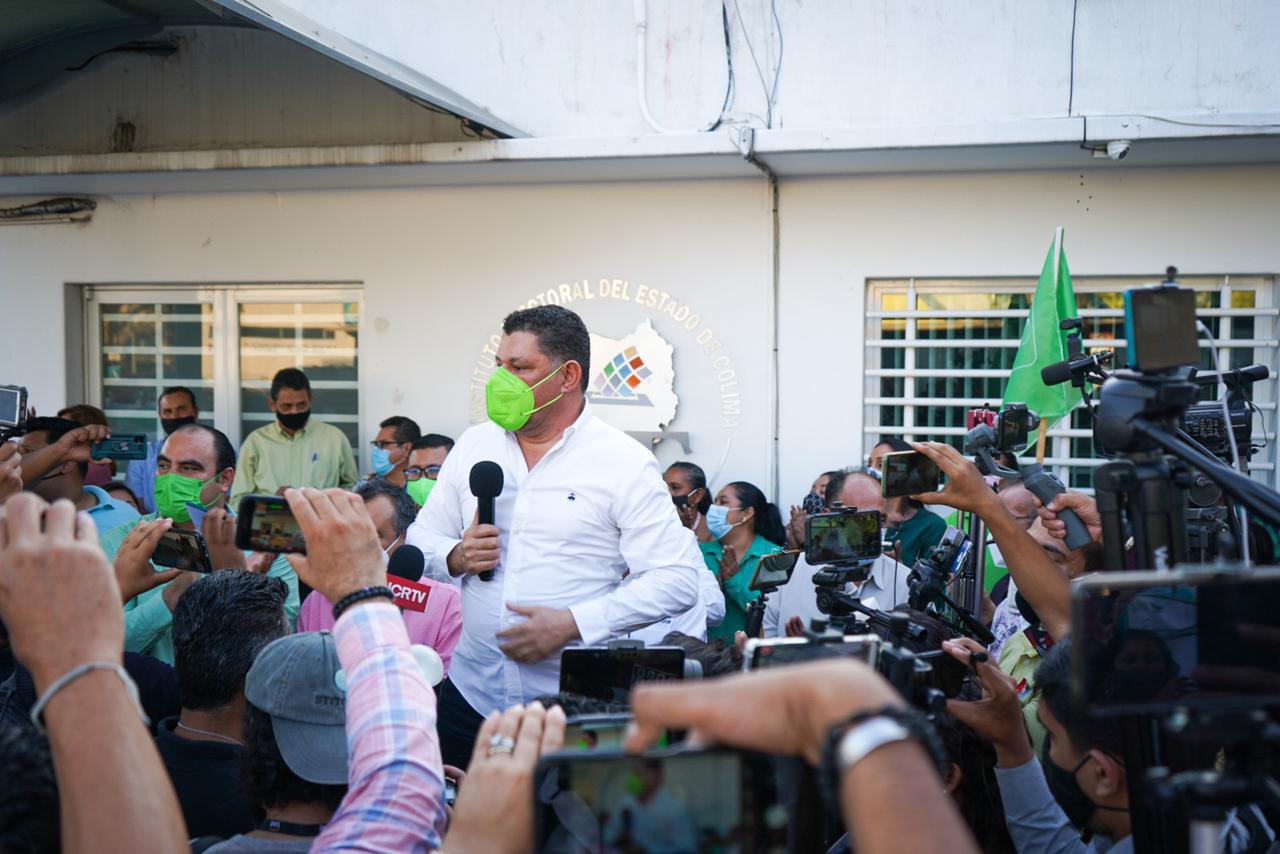 La alternancia ya llegó; haremos de Colima un mejor lugar para vivir: Virgilio