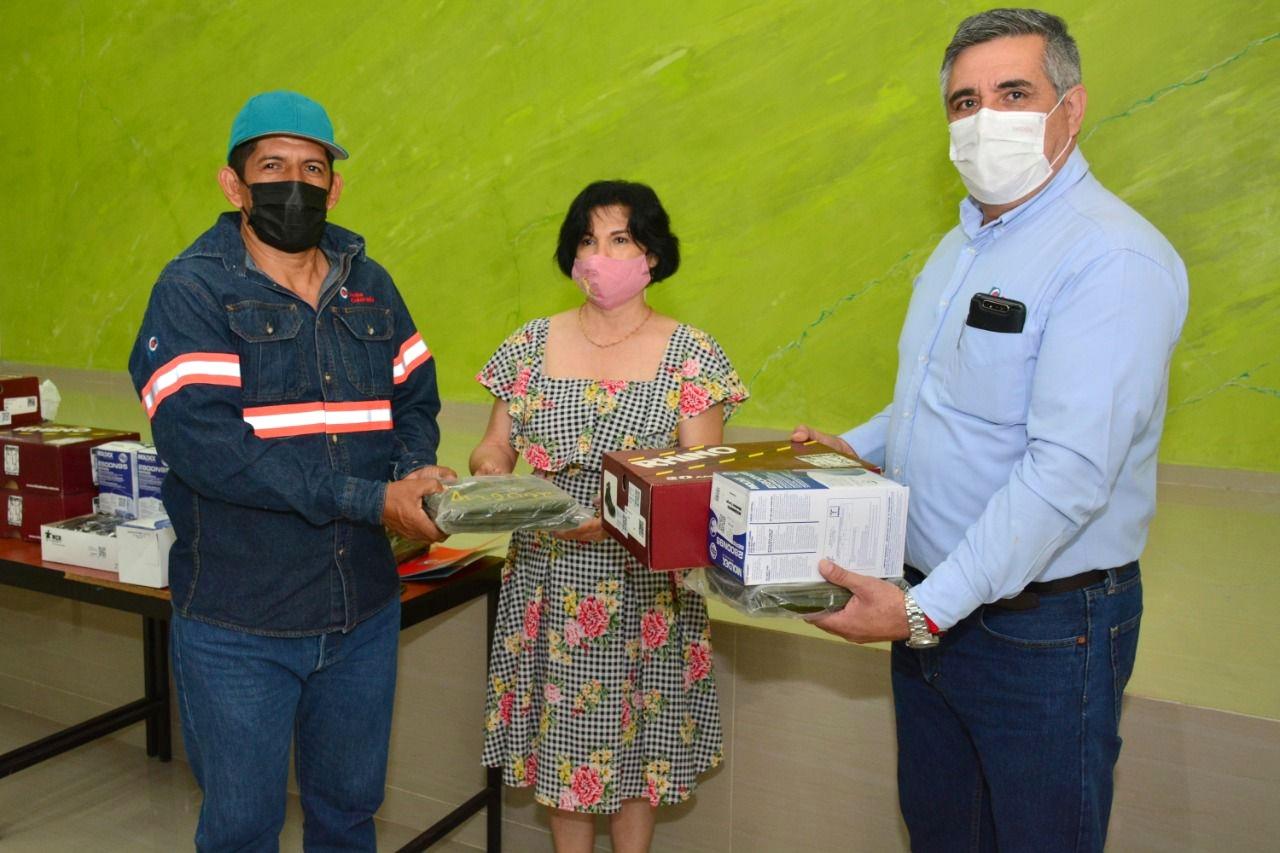 Peña Colorada refrenda contribución con las brigadas para la prevención y el combate de incendios forestales en Minatitlán