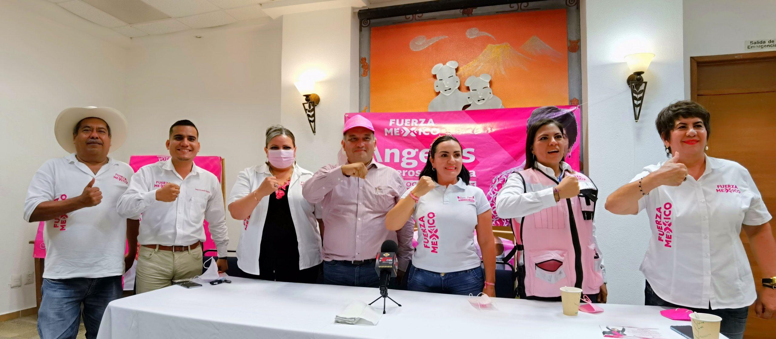 Candidatos de Fuerza por México respaldan a Carlos Hindman